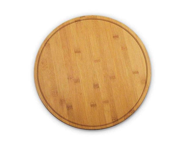 Tabúa de Pizza em Bambu