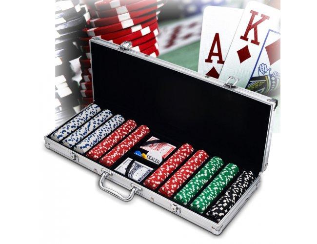 Maleta de Poker 500 Fichas